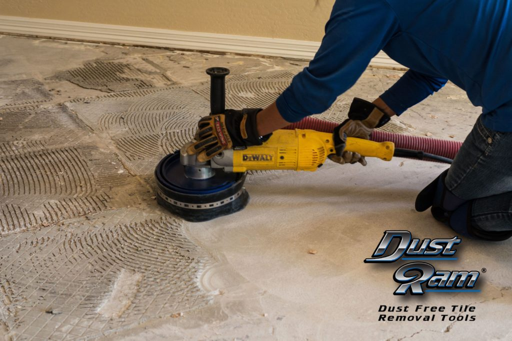 tile floor removal services