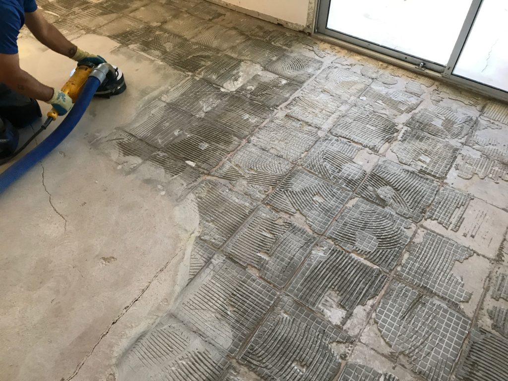 concrete grinding and scarification